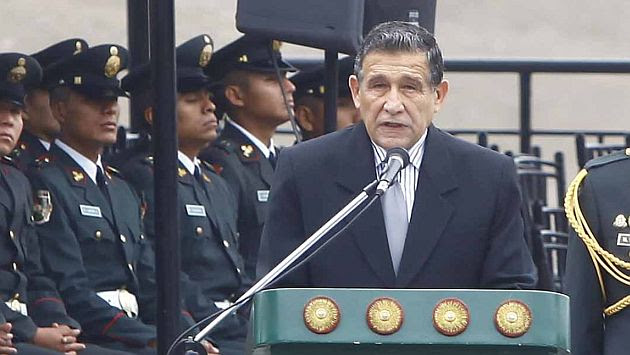 Ministro Wilver Calle dijo que el estado de emergencia en tres provincias es necesario. (Andina)