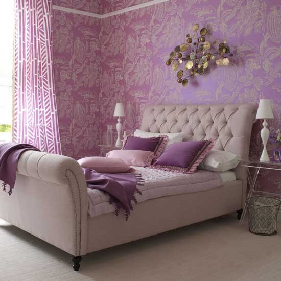 H&G Lilac bedroom - housetohome