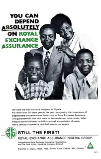 Guide to Lagos 1975 023 royal exchange assurance nigeria