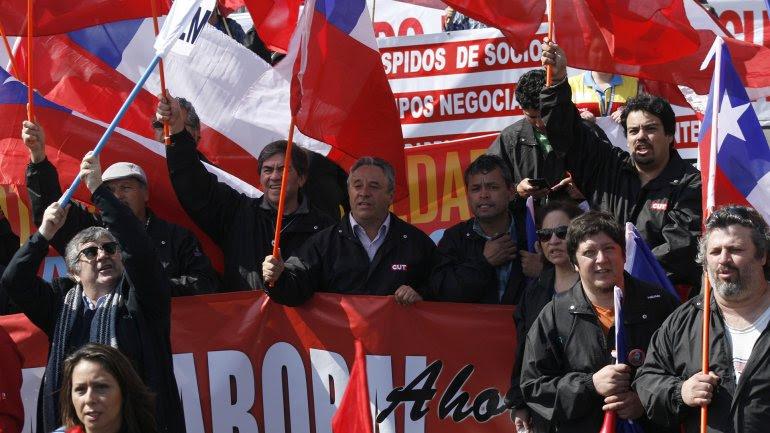 Los sindicatos de Chile convocaron a un paro nacional
