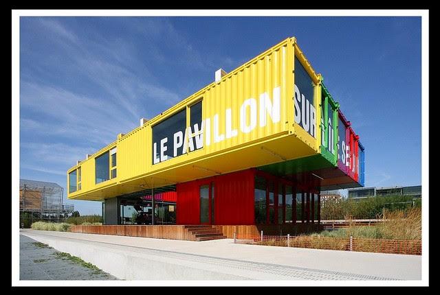 Le Pavillon sur l'île Seguin [2011]-  Boulogne-Billancourt