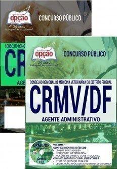 Apostila para Concurso CRMV-DF 2017 - Agente Administrativo
