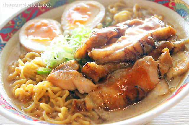 Sesame Miso (P275) with Roast Chicken (P35)
