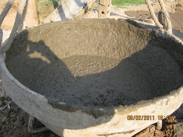 Vastushodh's Urbangram - 2 BHK Flat for Rs. 20 Lakhs - at Kondhawe Dhawade - Pune 411 023 - Construction Begins! - desired concrete mix