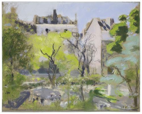 amare-habeo:  Éduard Vuillard (1868 - 1940) Square Berlioz, Place Vintimille, 1915