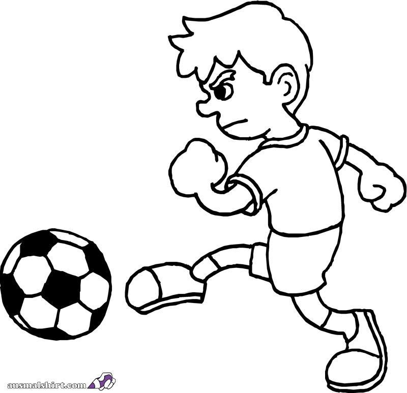 fußball bilder zum ausmalen kostenlos  malvorlagen gratis