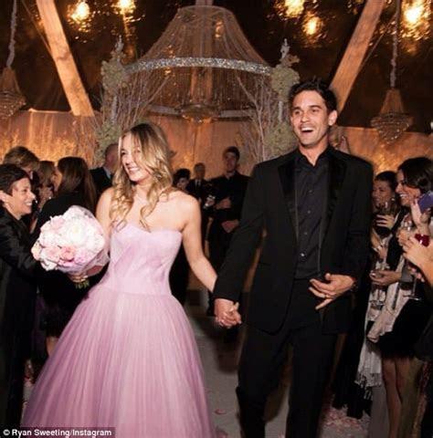 Kaley Cuoco and Ryan Sweeting's Wedding  Sandals Wedding Blog