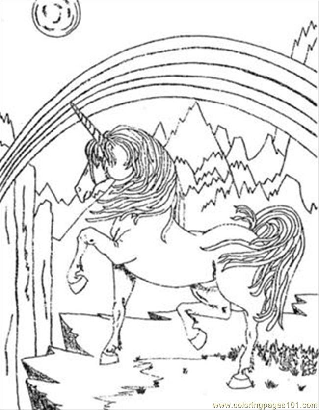 Unicorn Sentr Coloring Page - Free Unicorn Coloring Pages ...