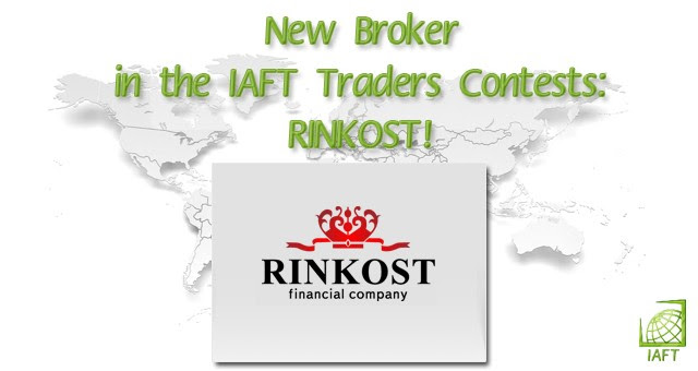 New Broker in the IAFT Traders Contests: RINKOST