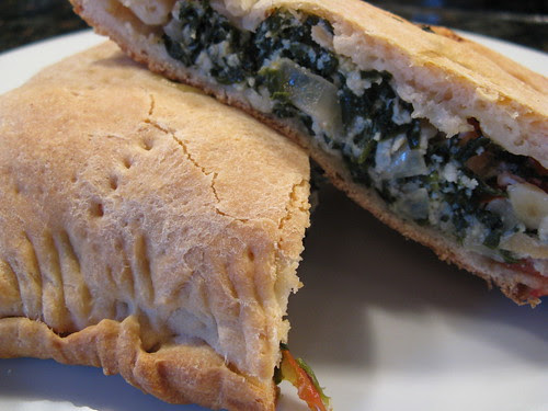 Spinach & Chicken Calzone