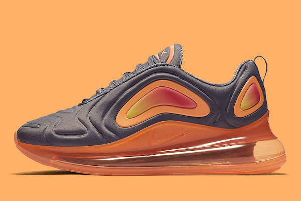 "45457a32cd Nike Air Max 720 ""Fuel Orange"" Is Available Now"