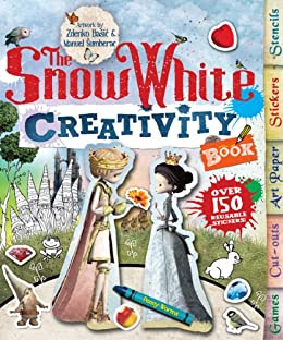The Snow White Creativity Book: Games, Cut-Outs, Art Paper, Stickers, and Stencils