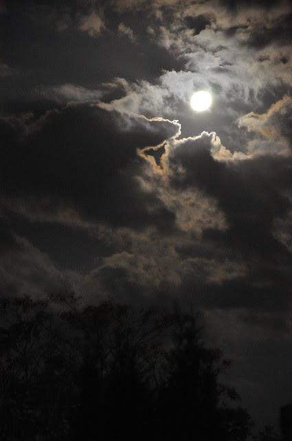 La Luna de Hace unas Noches