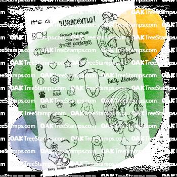Baby Bumps Stamp Set