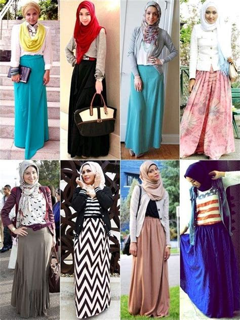 contoh model baju muslimah terbaru hari raya idul fitri