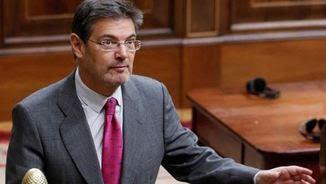 El CGPJ i els jutges de Navarra desautoritzen el ministre de Justícia, Rafael Catalá (EFE)