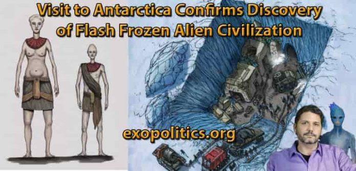 Εντοπίστηκε Εξωγήινος Πολιτισμός στην Ανταρκτική;;