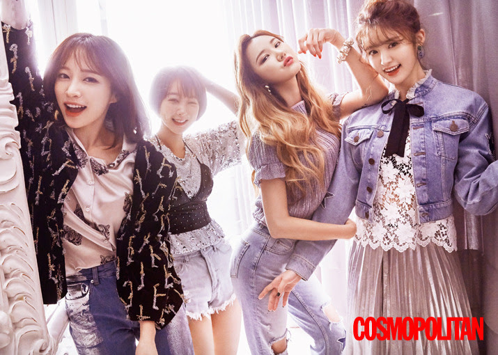 EXID - Cosmopolitan Magazine February Issue '17