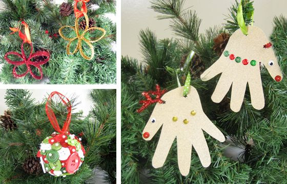Homemade Christmas Ornament Ideas