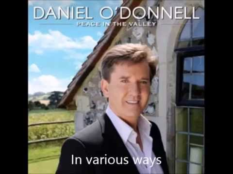On The Wings Of A Dove Lyrics Daniel Odonnell
