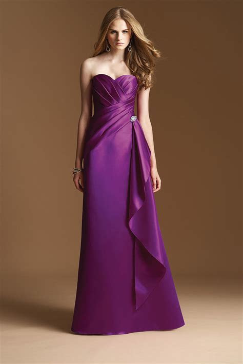 Long purple bridesmaid dresses cheap   All women dresses