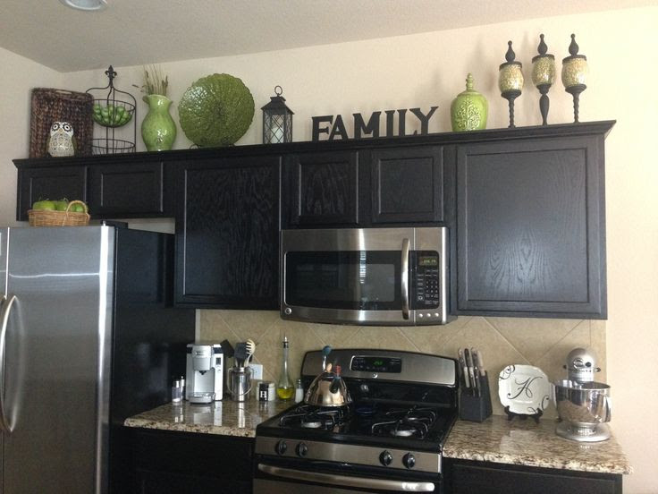 Above Cabinet Decorating Ideas Pictures