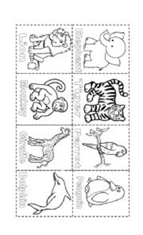 wild animals color page esl worksheet  ferjaramillob