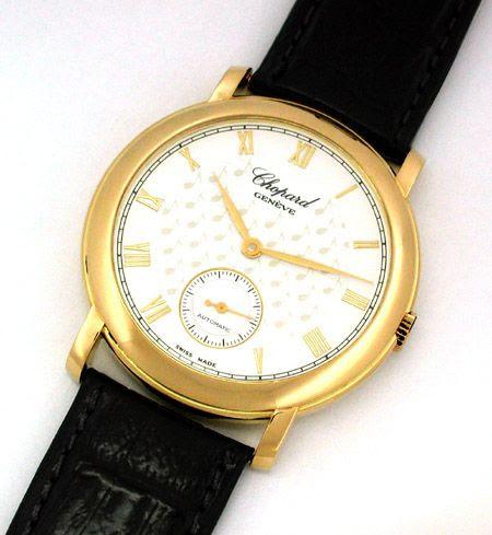 Foto 1, 1.Carreras Chopard Herren-Armbanduhr Automatik Gelbgold, U1662