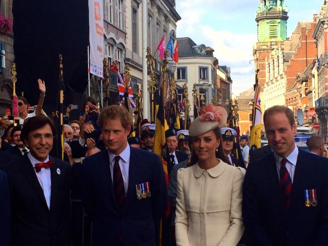 Il premier belga Di Rupo e i reali inglesi per il centenario della Grande Guerra, il 4 agosto a Mons