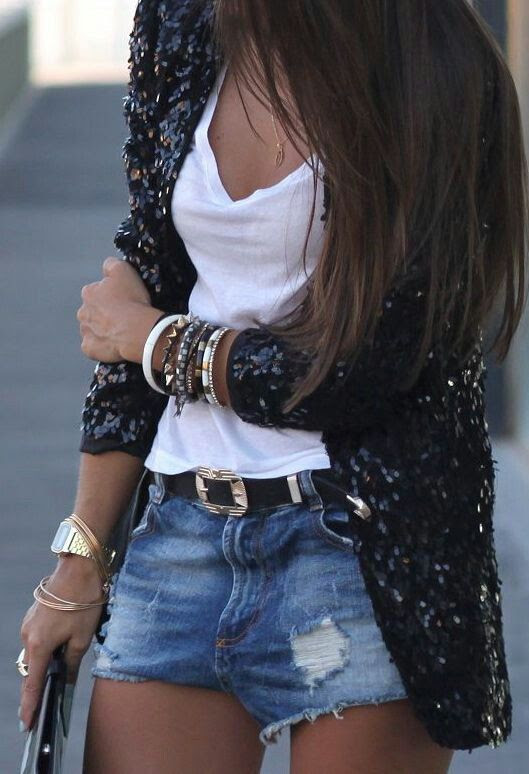casual sequin chic. zazumi.com