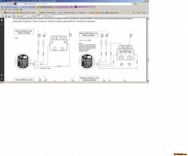 Ultima Single Fire Ignition Wiring Diagram
