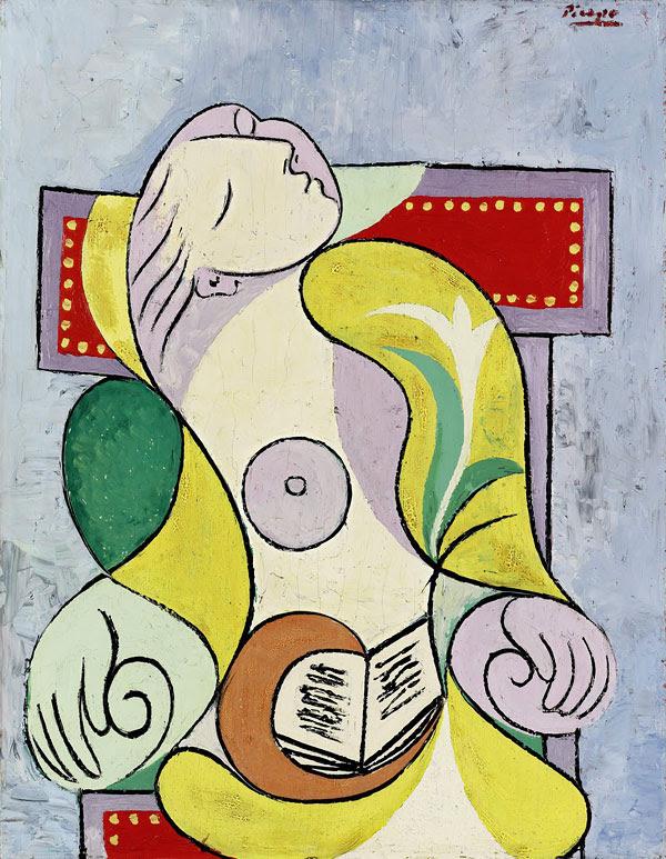 Пабло Пикассо Чтение