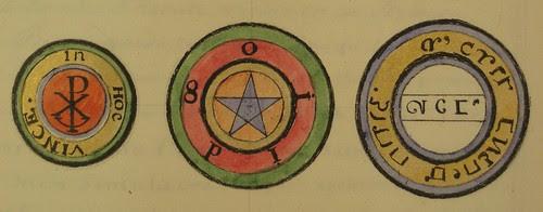 3 esoteric symbols from Agrippa