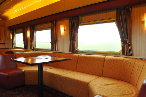 Outback Explorer Lounge on The Ghan