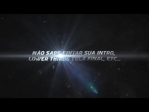 Intro #31 Letras Editavel Tutorial After effects www logotipodesigner com pasta