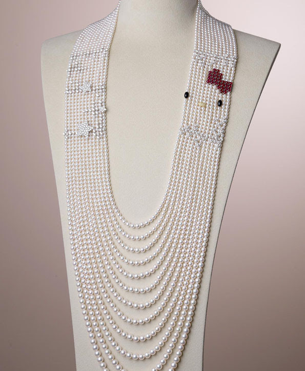 Hello Kitty Pearl Necklace