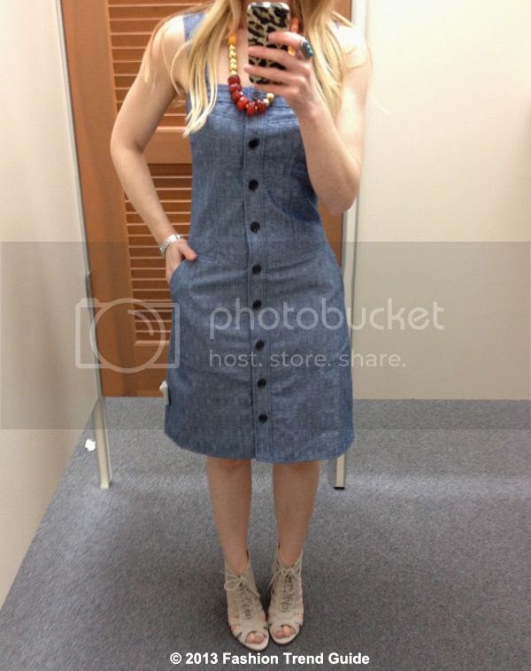 Derek Lam Kohl's DesigNation chambray jumper dress