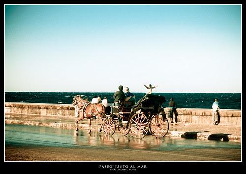 Paseo junto al mar