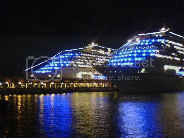 Ship at night Pictures, Images and Photos