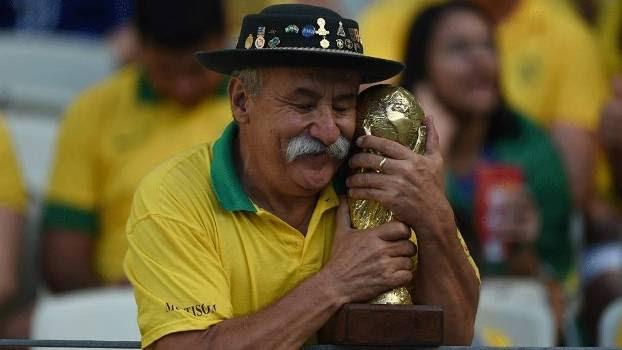 'Gaúcho da Copa' era uma das marcas registradas do Brasil em Mundiais