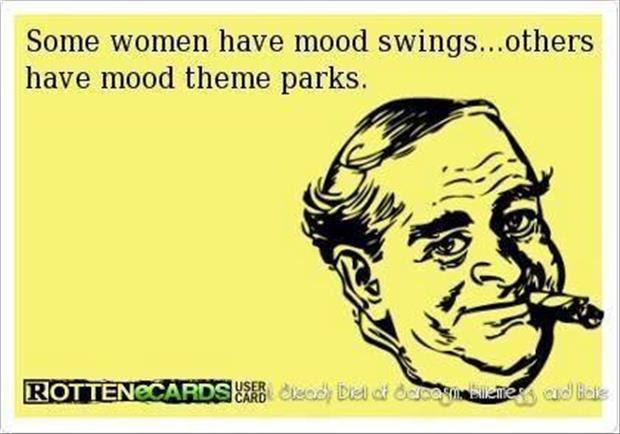 A Woman Has Mood Swings Dump A Day