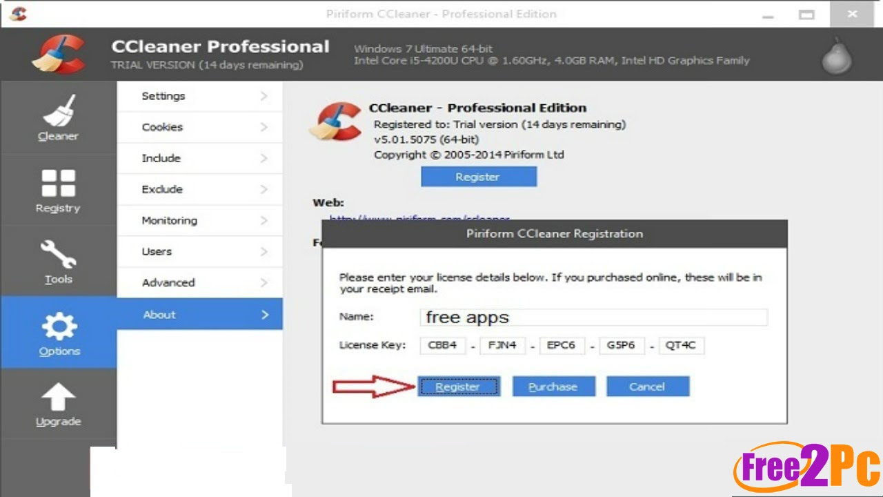 ccleaner free trial