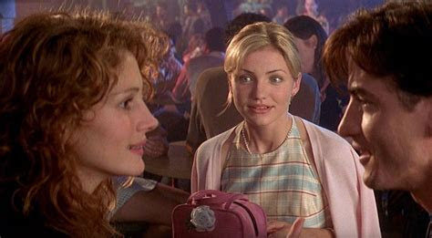 """Cameron Diaz Dished On The """"My Best Friend's Wedding"""