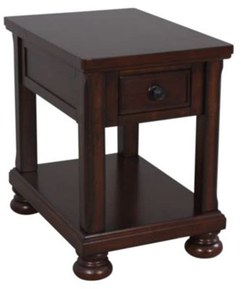 ashley porter chairside table homemakers furniture
