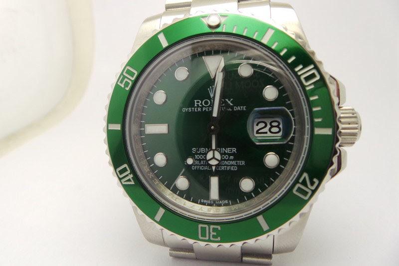 Rolex Green Submariner 116600LV Replica