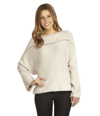 BCBGeneration Dolman Lattice Sweater
