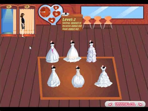 Buy a wedding dress   wedding shop game   tessagames.co.uk