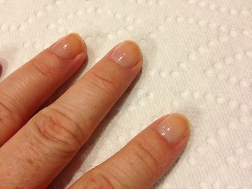 A nice base coat keeps your nails healthy and not so yellow-y.