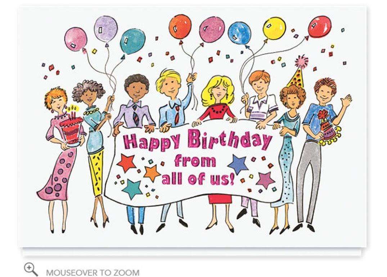 Funny Happy Birthday Boss Clipart