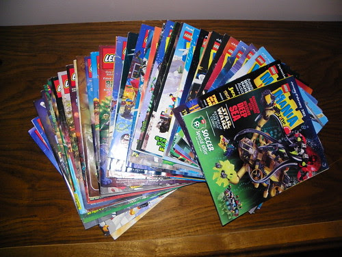 LEGO Magazine, LEGO Mania Magazine, LEGO Catalog